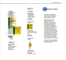In taking Vetom the processes of metabolism in the gastrointestinal tract come to normal